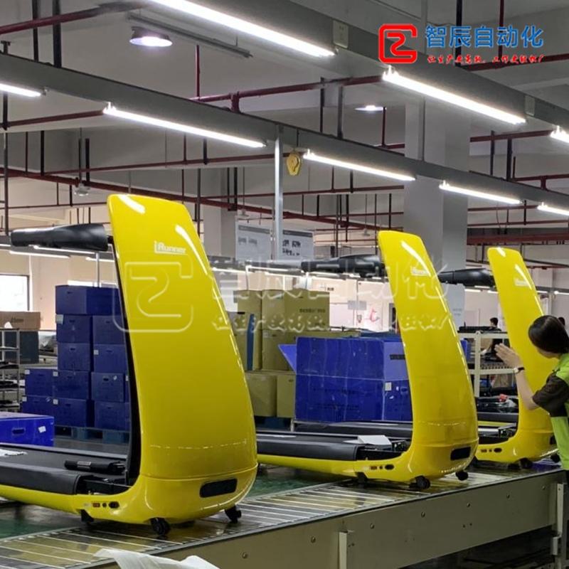 专业跑步机装配、测试生产线