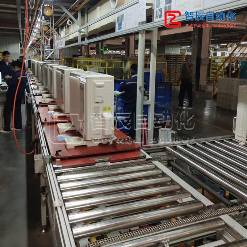 定制空调装配、测试生产线