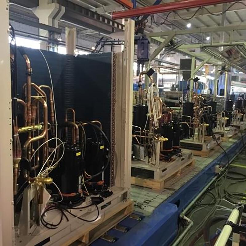 自动化空调装配、测试生产线